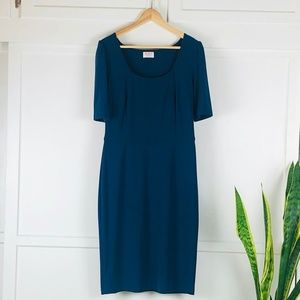 Leona Edmiston Teal Dress size 10